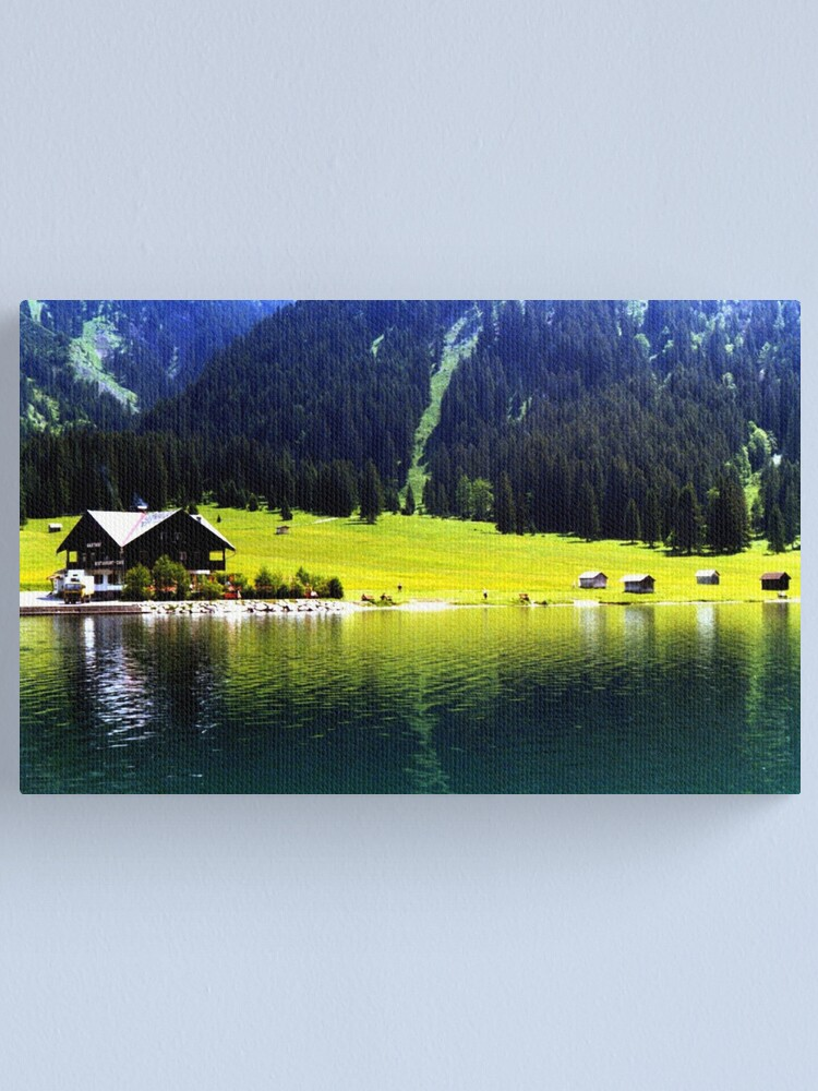 Alternate view of Austrian Alps Canvas Print