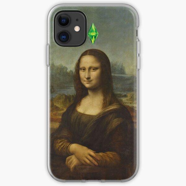Mona Lisa Sims iPhone Soft Case