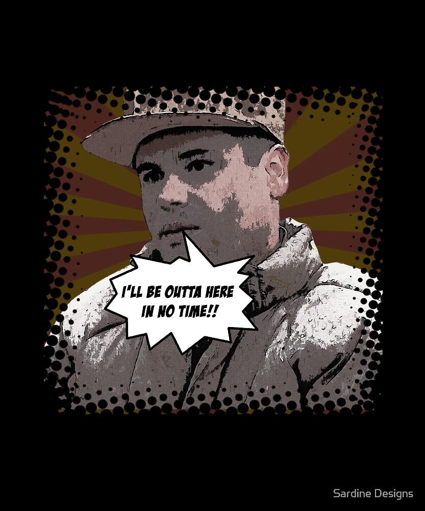 El Chapo Comic Mexico Sinaloa Funny Kingpin by Sardine Designs