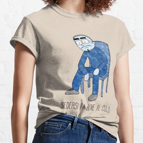 Rikkardo's Tales - Sedersi Fa Bene Al Culo Classic T-Shirt