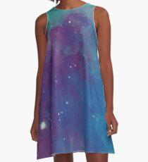 Night sky [watercolor] A-Line Dress