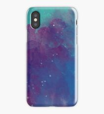 Night sky [watercolor] iPhone Case