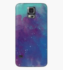 Night sky [watercolor] Case/Skin for Samsung Galaxy