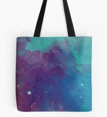 Night sky [watercolor] Tote Bag