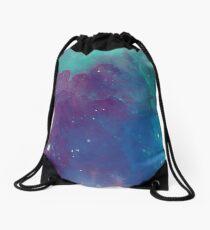 Night sky [watercolor] Drawstring Bag