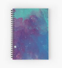 Night sky [watercolor] Spiral Notebook