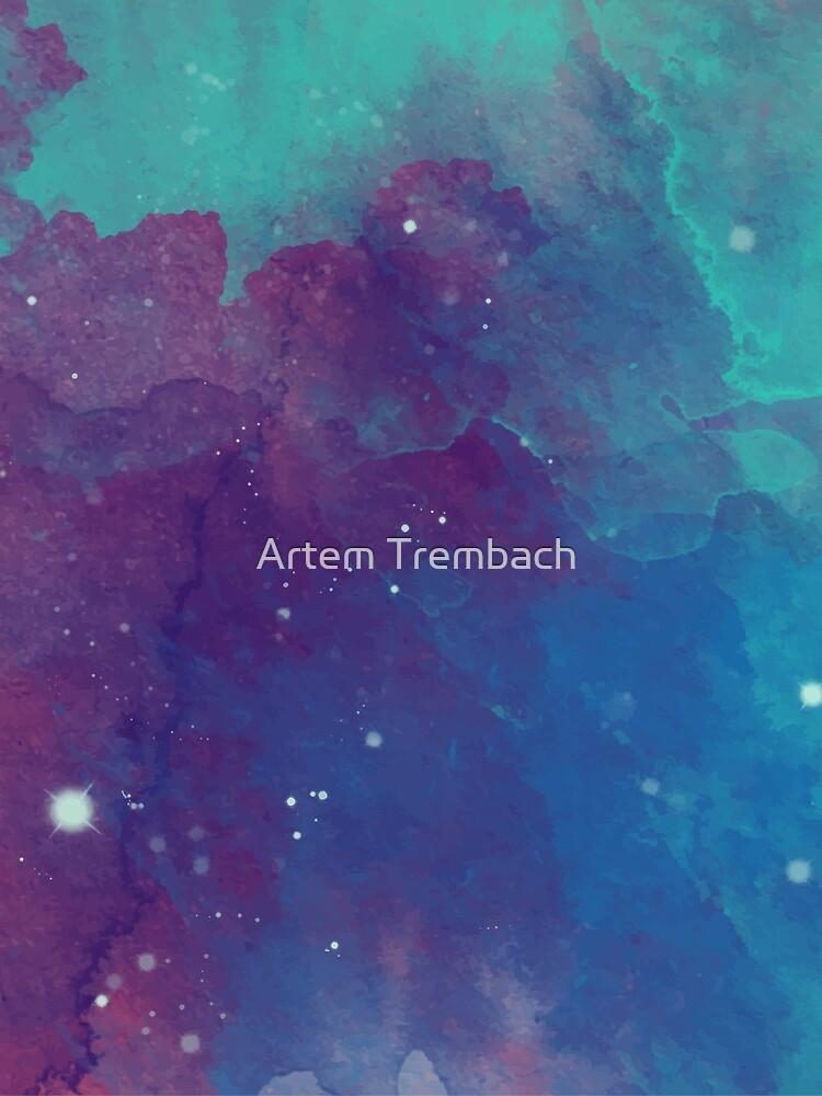 Night sky by Artem-Witness