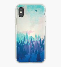 Vinilo o funda para iPhone Bosque