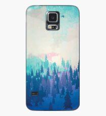 Funda/vinilo para Samsung Galaxy Bosque