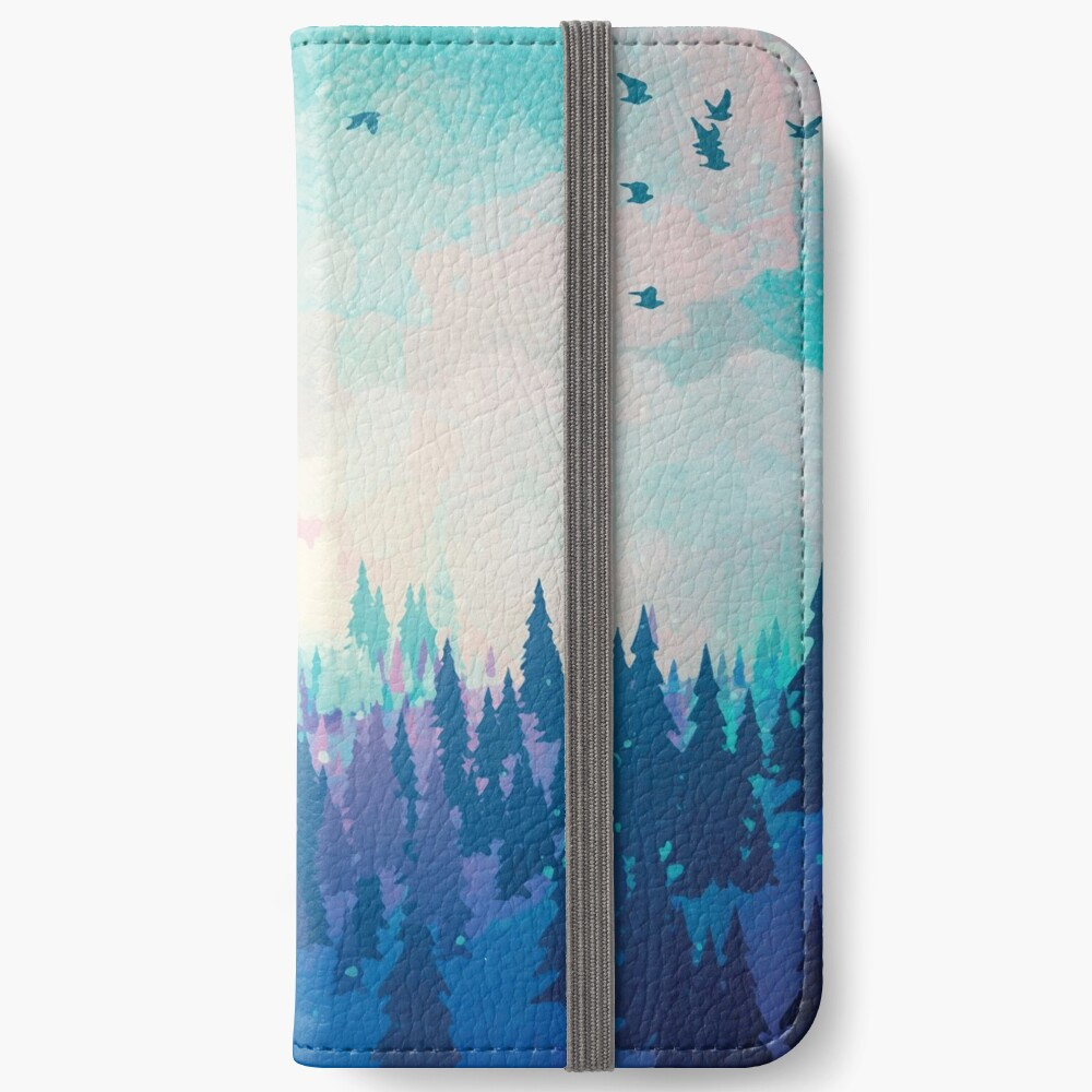 Forest iPhone Wallet