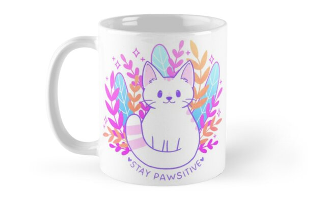 Pawsitive Cat by nikury