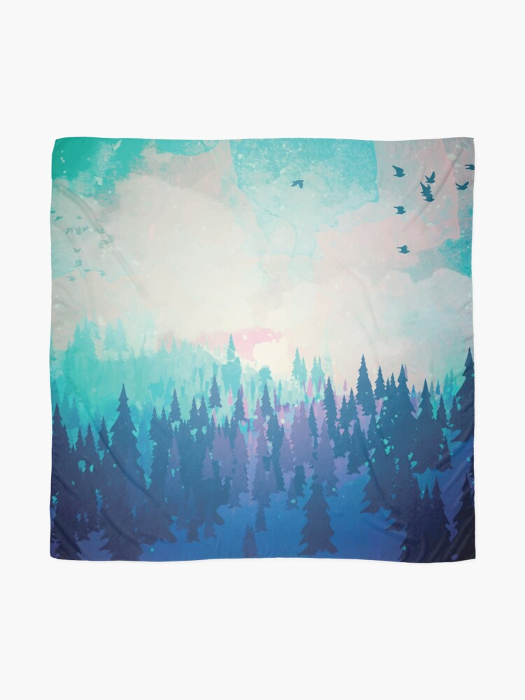 Alternate view of Forest Scarf