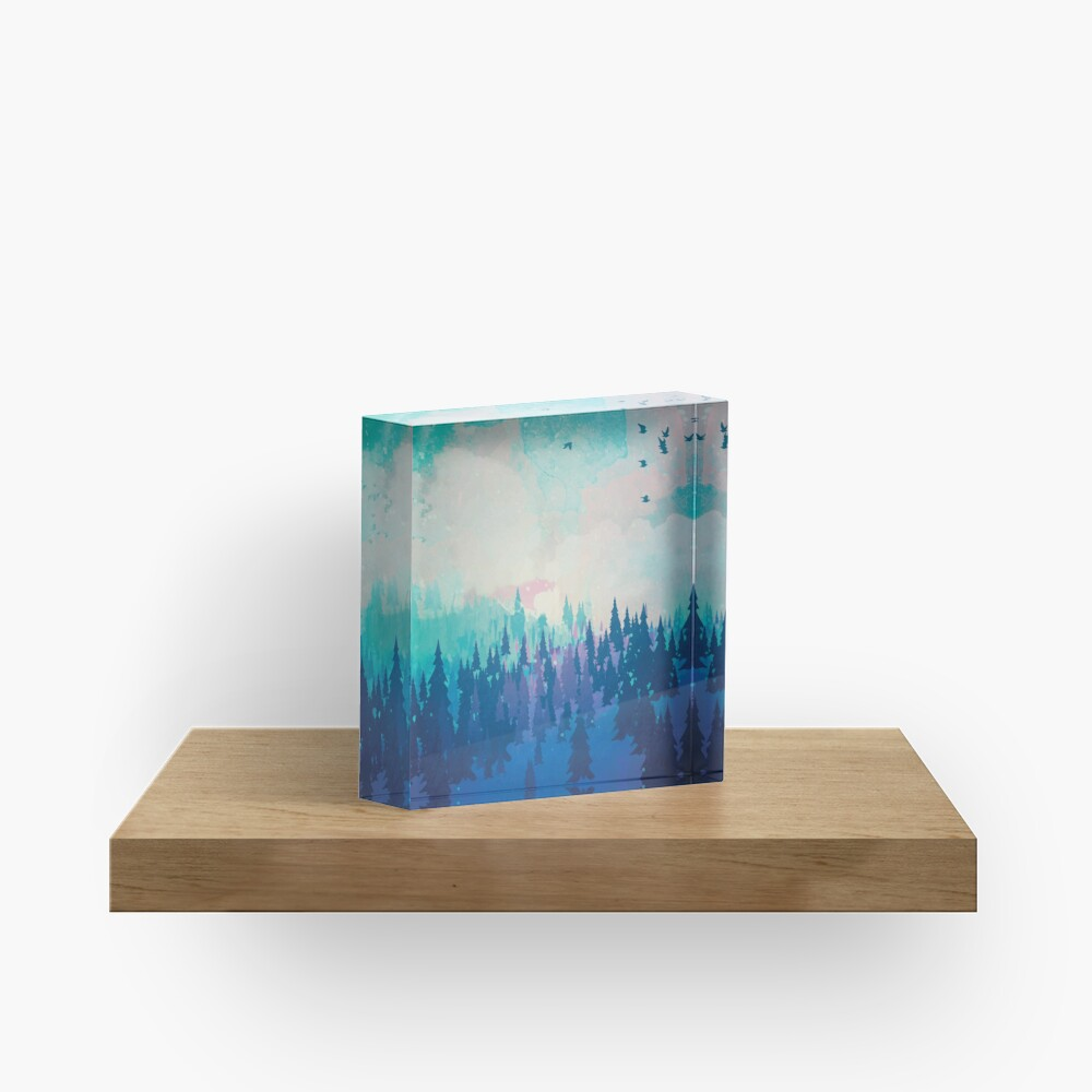 Forest Acrylic Block