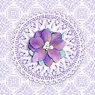 Victorian Flower Lace by PatriciaSheaArt