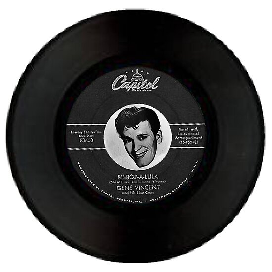 GENE VINCENT 45 by Matterotica
