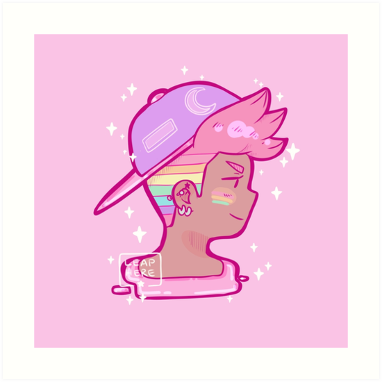 Rainbow Hair - LGBTQ+ by leaphere