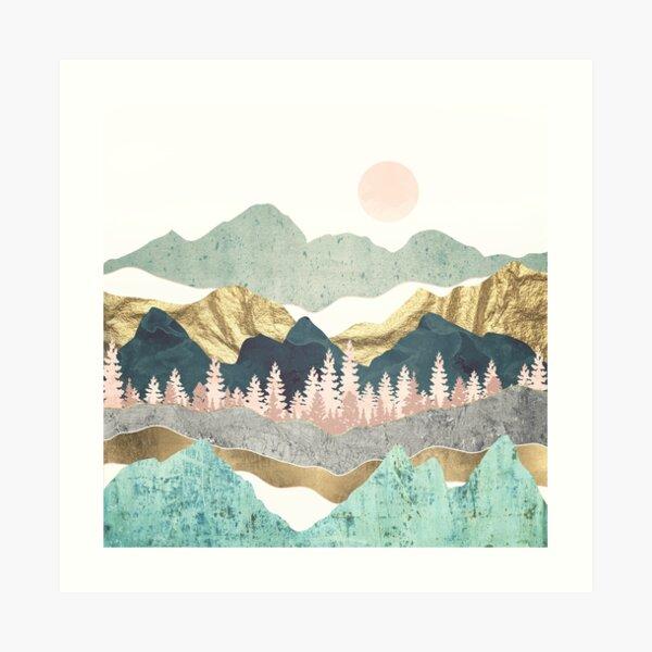 Summer Vista Art Print
