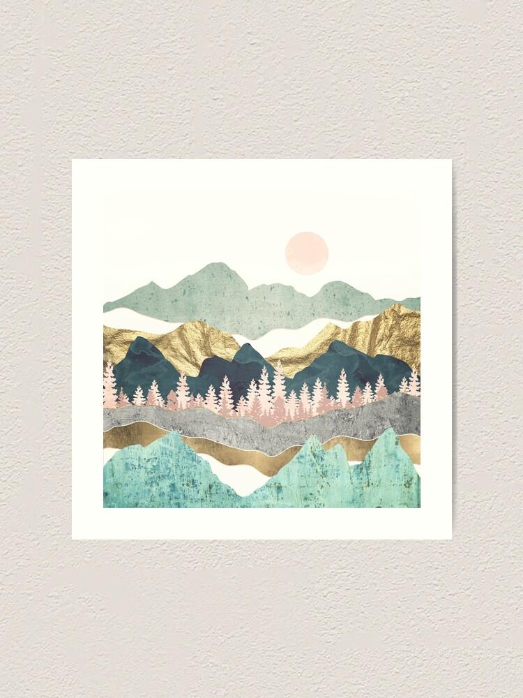 Alternate view of Summer Vista Art Print