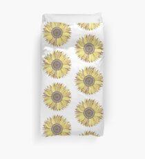 Sonnenblume-Mandala Bettbezug