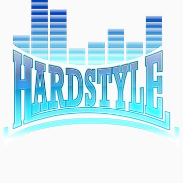 Hardstyle T-Shirt - Blue by Coreper