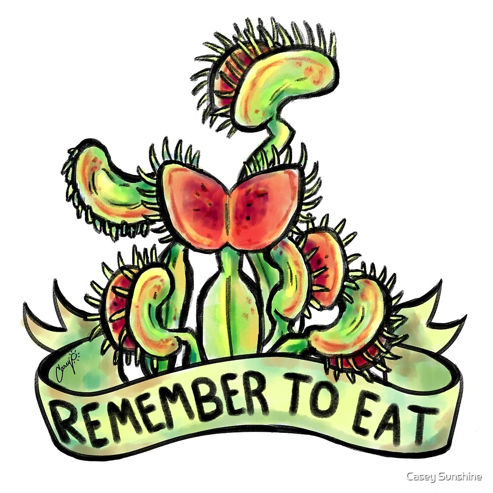 Positive Carnivores - Venus Fly Trap by Casey Sunshine