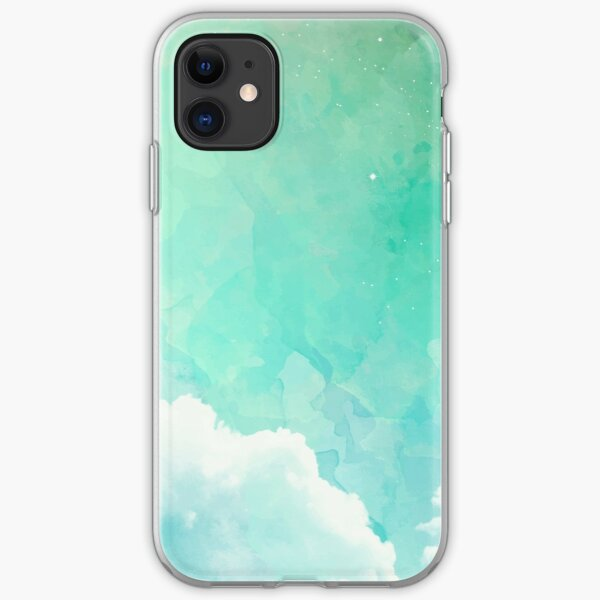 Above the sky iPhone Soft Case