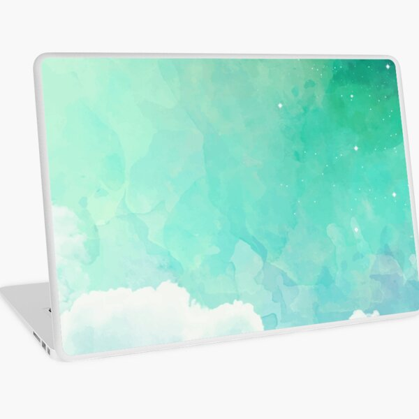 Above the sky Laptop Skin