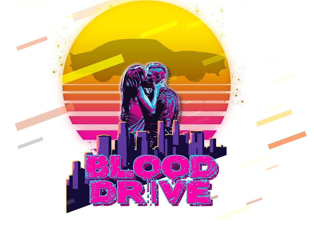 80s Blood Drive Arthur and Grace by ImAnonhuman
