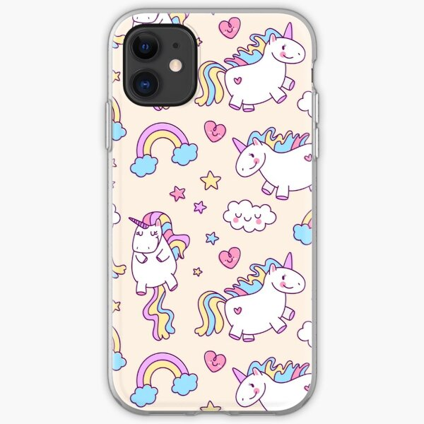 More unicorns!!! iPhone Soft Case