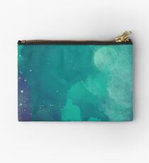Night sky [watercolor] Zipper Pouch