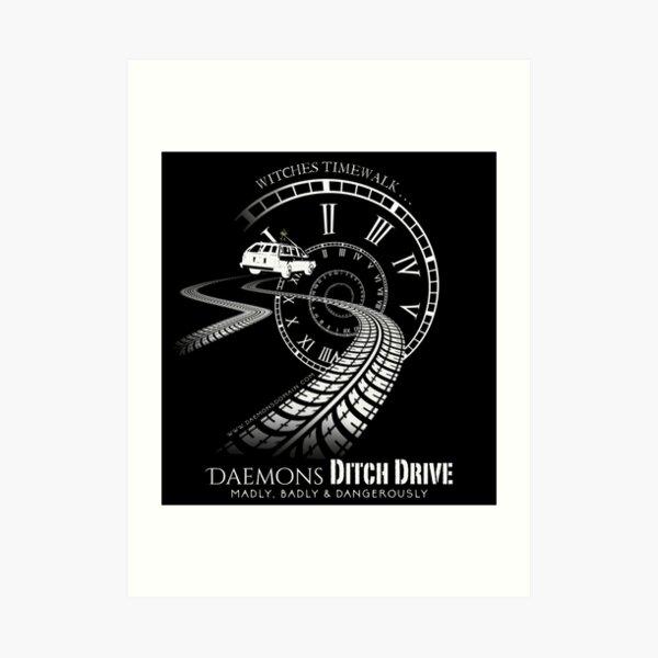 Daemons Domain 2018 T shirt Art Print