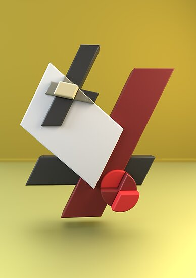 Constructivism & Suprematism in the style of Moholy-Nagy (7 of 9) by paulstayt