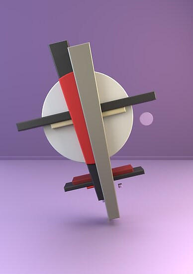 Constructivism & Suprematism in the style of Kasimir Malevich (8 of 9) by paulstayt