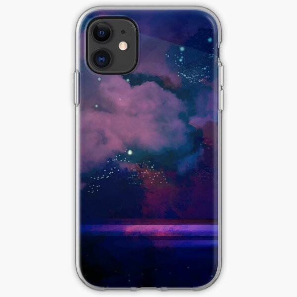 Night sea iPhone Soft Case
