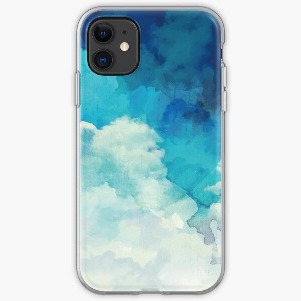 Above the clouds iPhone Soft Case