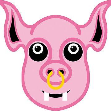 Pigsy by tierneyart