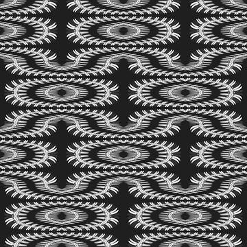 Monochrome centipede arabesque by gavila