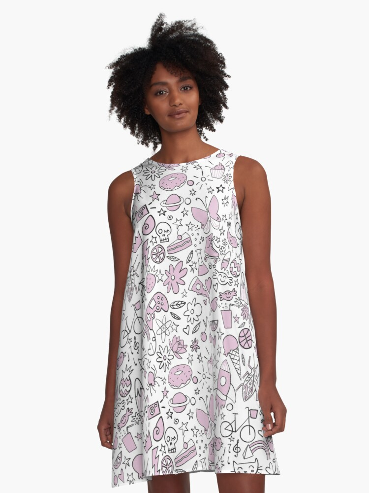 Girly childhood A-Line Dress Front