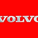 Old Volvo Emblem - Standard and Travel Mug (Red) by Matti Ollikainen