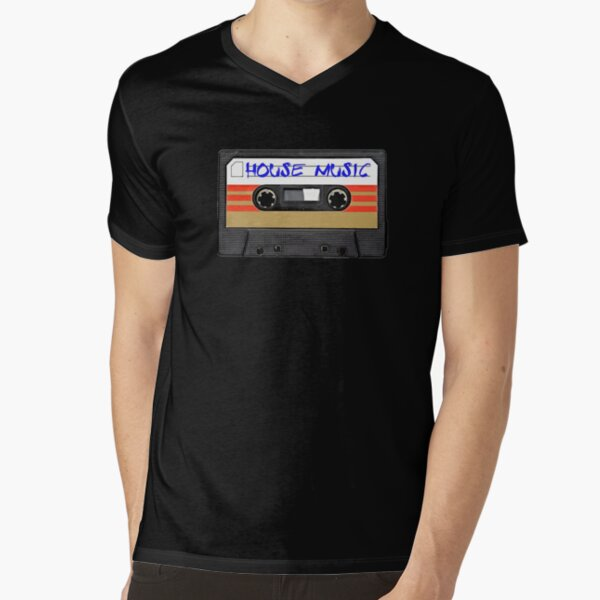 House Music V-Neck T-Shirt