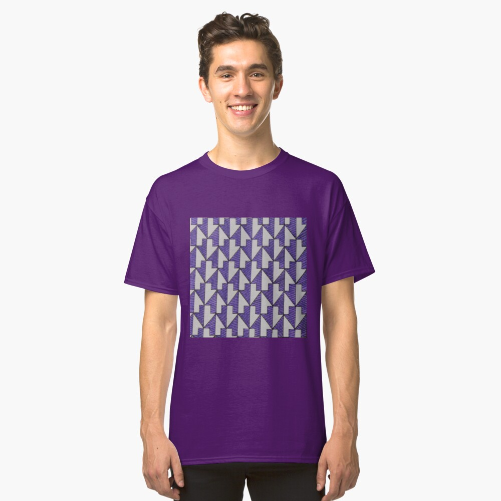 Arrow Design Classic T-Shirt Front