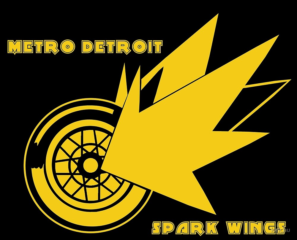 Metro Detroit Spark Wings by lorichu