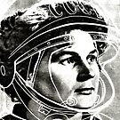 The first female Cosmonaut by Gareth Stamp