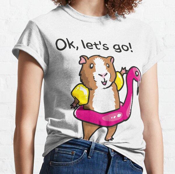 guinea pig and flamingo Classic T-Shirt