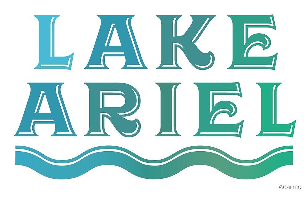 Lake Ariel - PA 3 by Acarmo