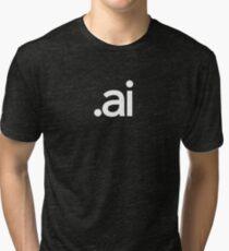 Adobe Illustrator File Extension - Creative Cloud Tri-blend T-Shirt
