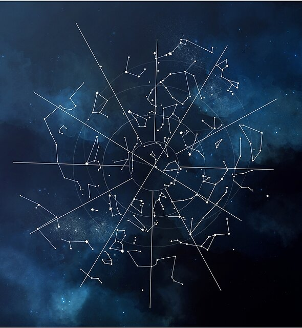 Celestial Map by rosescreation