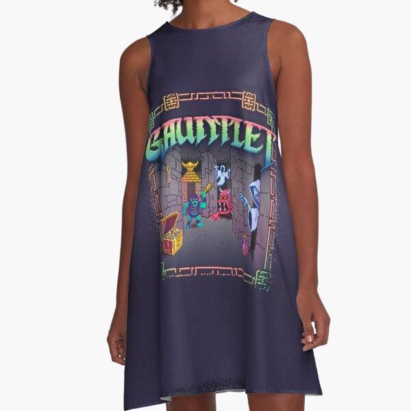Let's Gaunt A-Line Dress