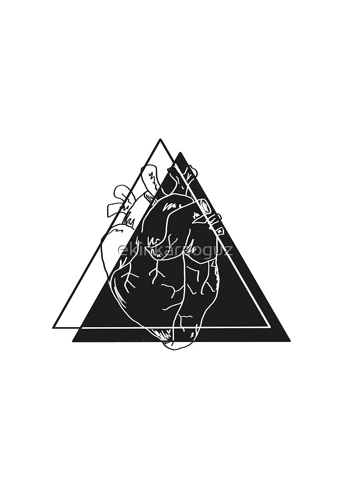 Heart Triangle by ekinkaraoguz