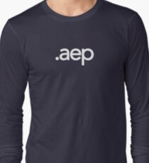 Adobe After Effects File Extension - Creative Cloud Long Sleeve T-Shirt